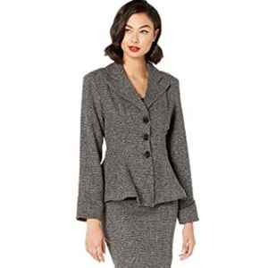 Micheline Pitt for Unique Vintage Tweed Jacket